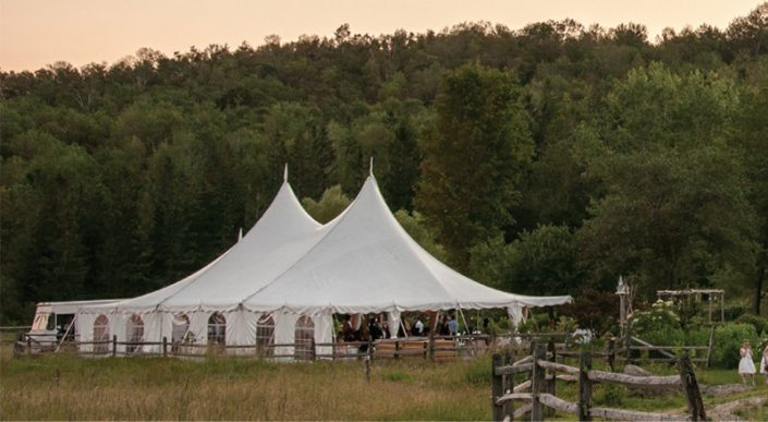Wedding Tent at Farm