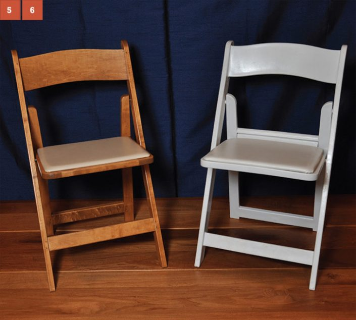 Wedding and wooden folding Chairs